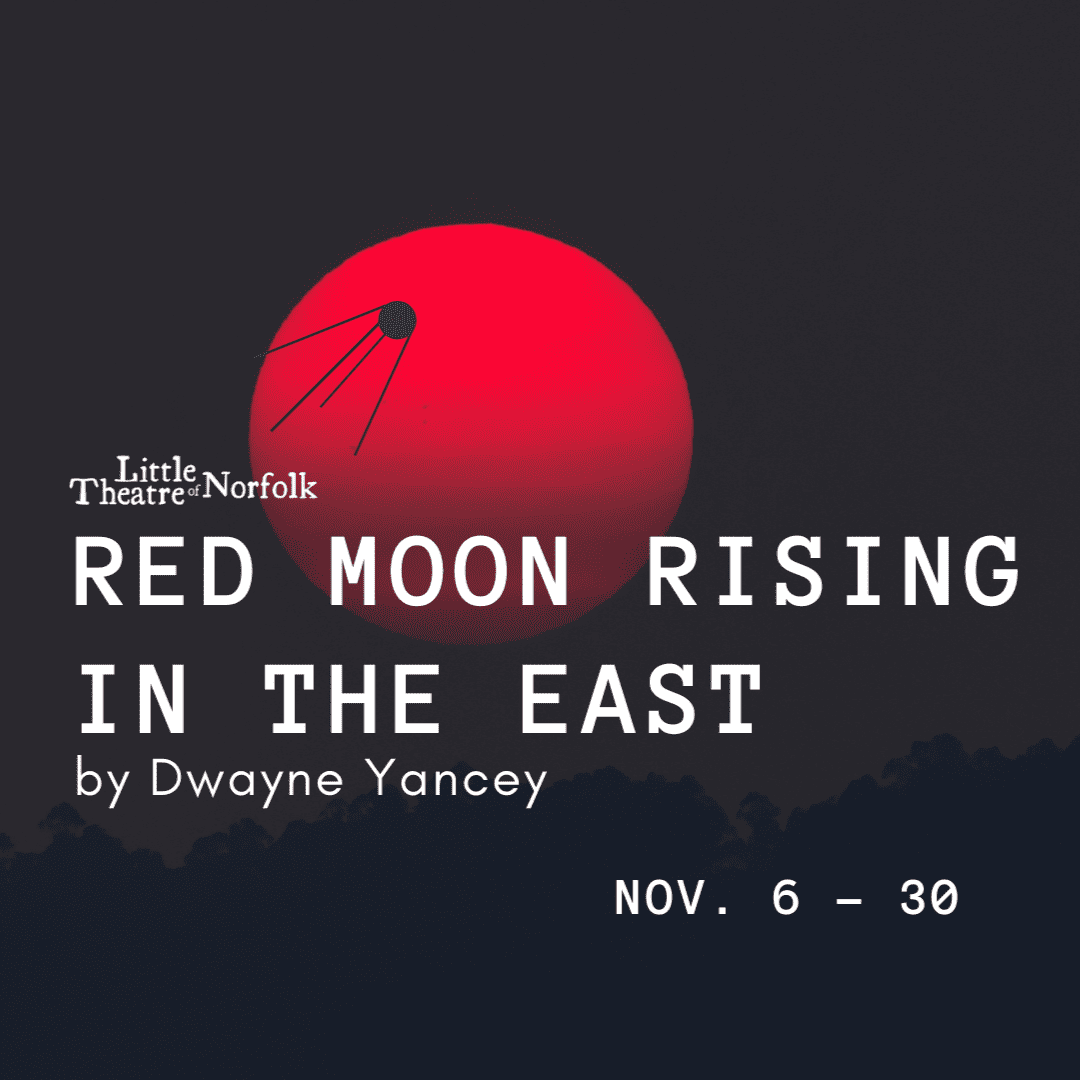 Red Moon Rising in the East